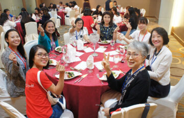 Staff report on Asian Young Women's Leadership Development Seminar in Singapore 2020